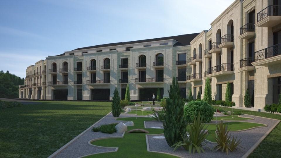 Az Avalon hotel látványterve
